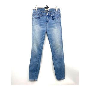 Madewell Mid Rise Blue Denim Skinny Skinny Jean